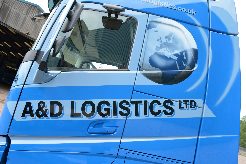 A&D Logo Side of Truck